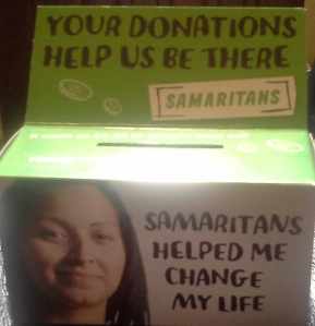 My Samaritans Collecting Box